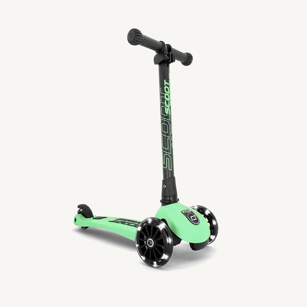 Scoot and Ride Scooter - Highwaykick 3 LED in Kiwi - All Mamas Children
