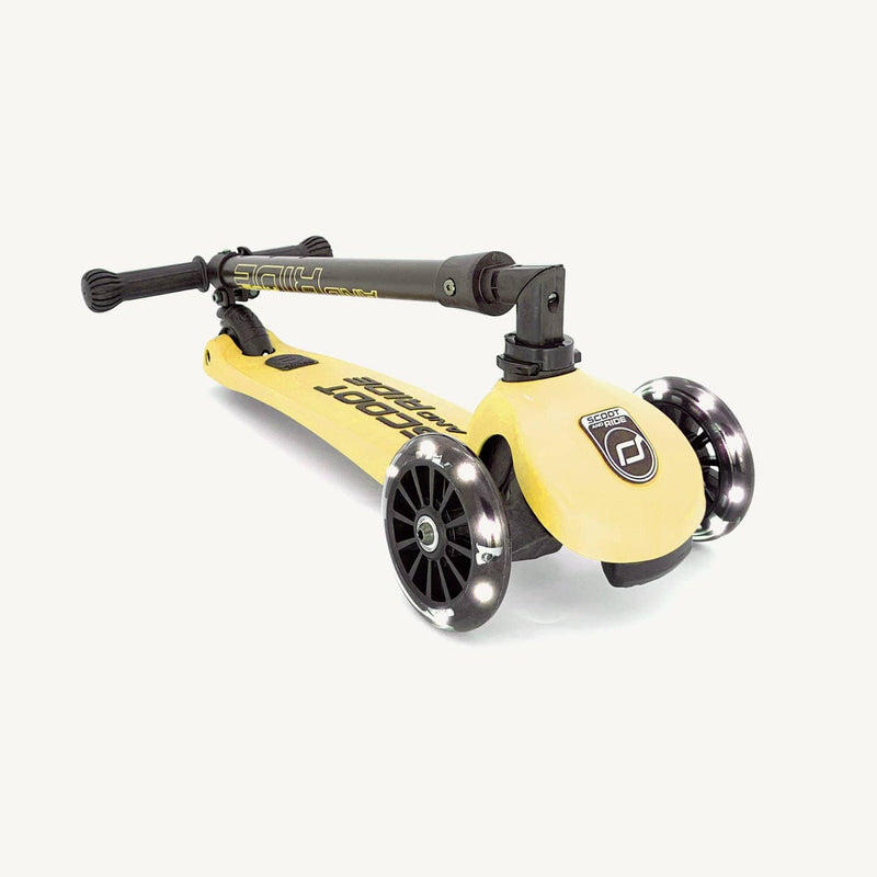 Scoot and Ride Scooter - Highwaykick 3 LED in Lemon - All Mamas Children