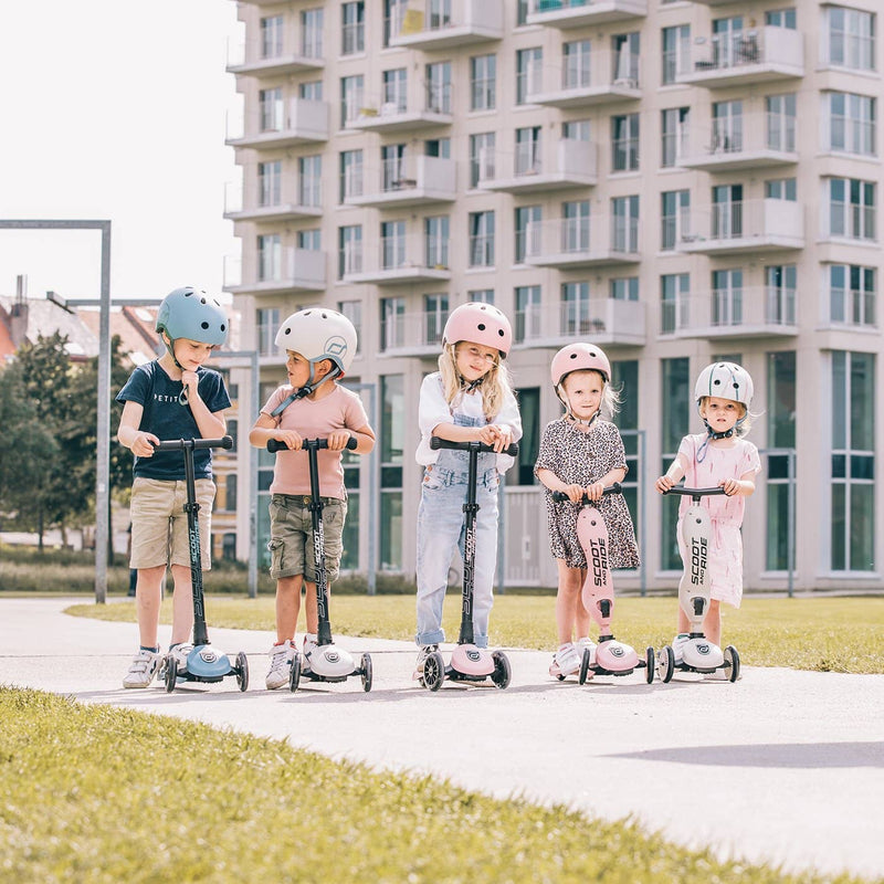 Scoot and Ride Scooter - Highwaykick 3 LED in Steel - All Mamas Children