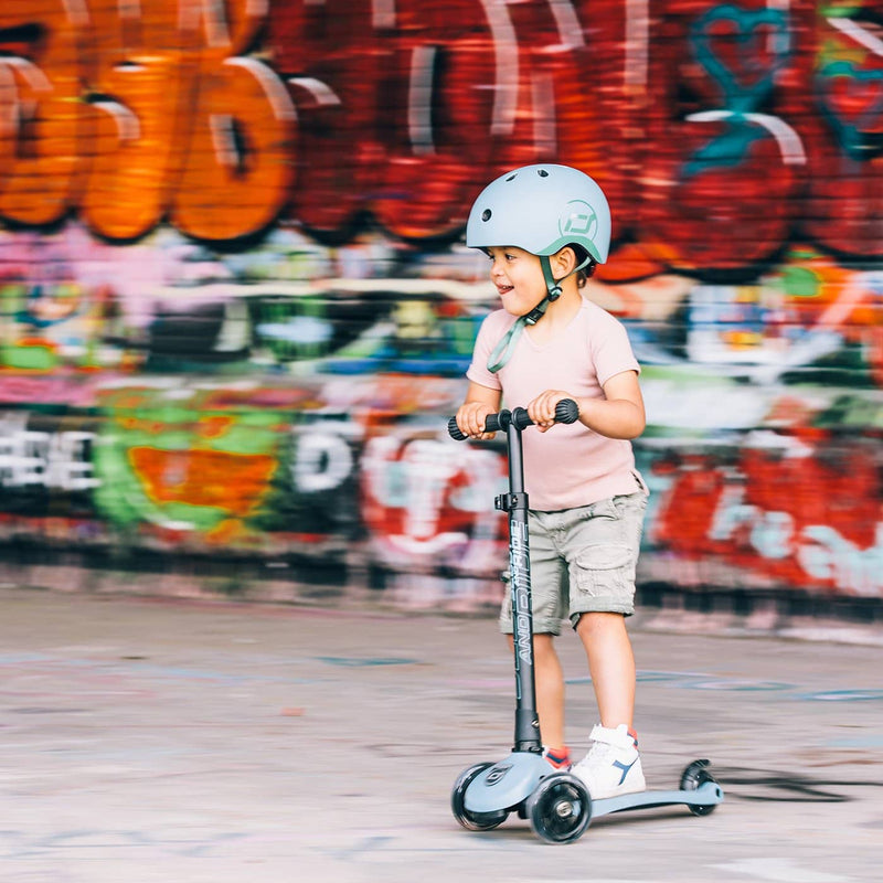 Scoot and Ride Scooter - Highwaykick 3 LED in Steel, Scooter, Scoot and Ride - All Mamas Children