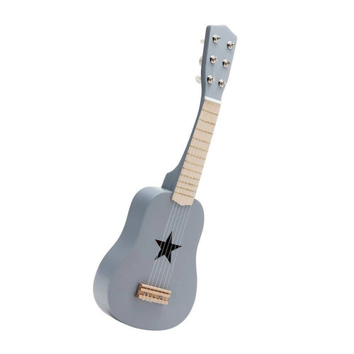 Star - Grey Wooden Toy Guitar