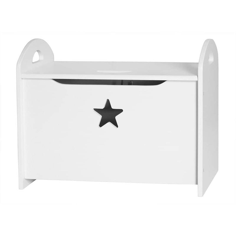 Kid's Concept - Star White Wooden Storage / Toy Chest, Storage Box, Kids Concept - All Mamas Children