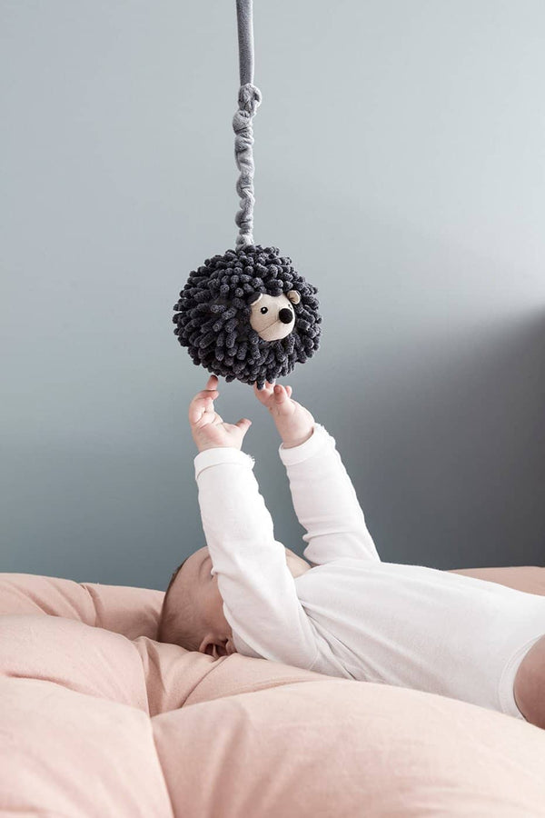 Kid's Concept - Stella The Hedgehog Music Box / Baby Mobile - Edvin Range, Baby Mobile, Kids Concept - All Mamas Children