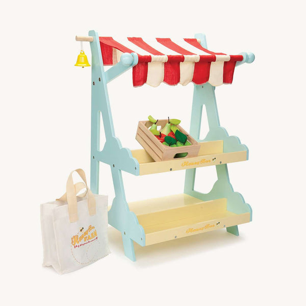 Le Toy Van - Honeybee Wooden Market Stall, Pretend Play, Le Toy Van - All Mamas Children