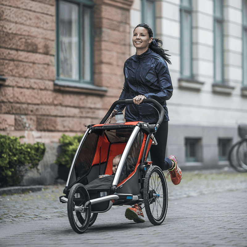 Thule Chariot Jogging Kit 1 for 2017+ Models, Multisport and bike trailer kit, Thule - All Mamas Children