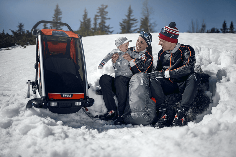 Thule Chariot Cross Country Skiing and Hiking Kit, Multisport and bike trailer kit, Thule - All Mamas Children