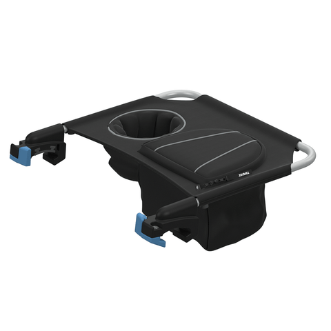 Add a zippered pocket and built in cup holder to your Thule Chariot. Compatible with the Thule Chariot Cross and Thule Chariot Lite.