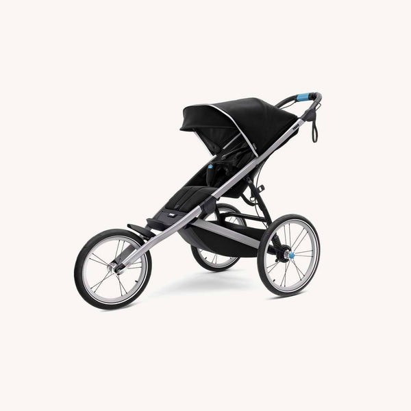 Thule Glide 2 Jogging & Sports Stroller 2018 model in Jet Black - With Rain Cover, Jogging Stroller, Thule - All Mamas Children