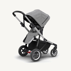 Thule Sleek Stroller + Rain Cover  in Grey Melange, Stroller, Thule - All Mamas Children
