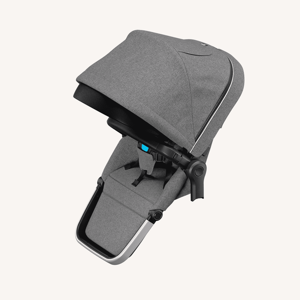 Thule Sleek Sibling Seat + Rain Cover  in Grey Melange - All Mamas Children