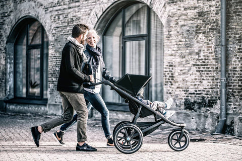 Thule Urban Glide 2 Jogging & Sports Stroller in Black 2018 model - With Rain Cover, Jogging Stroller, Thule - All Mamas Children