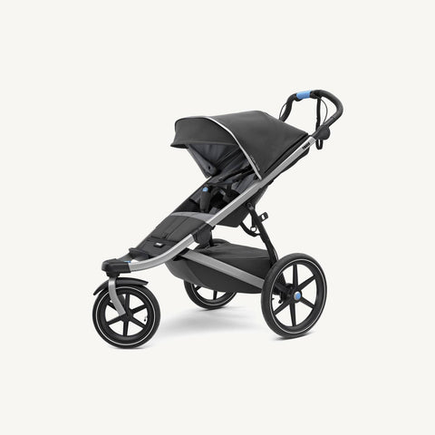 Thule Urban Glide 2 Jogging & Sports Stroller in Dark Shadow 2018 model - With Rain Cover, Jogging Stroller, Thule - All Mamas Children