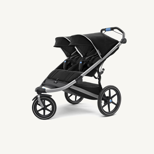 Thule Urban Glide 2 DOUBLE Stroller - Black, Jogging Stroller, Thule - All Mamas Children