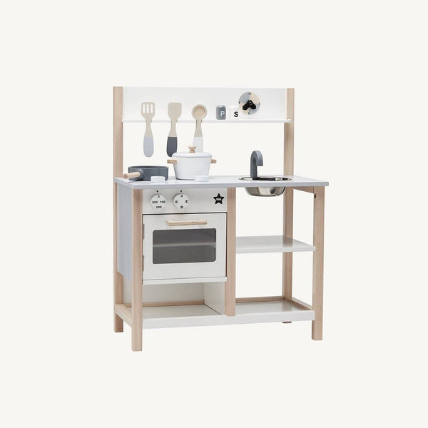 Kid's Concept - Bistro Wooden Play Kitchen, Kitchen Toys, Kids Concept - All Mamas Children