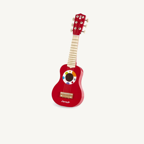 Confetti Wooden Toy Guitar by Janod, Toy Instruments, Janod - All Mamas Children