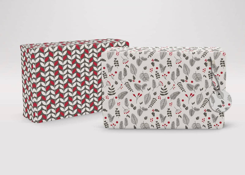 Scandi Style Recycled Wrapping Paper & Tags - All Mamas Children