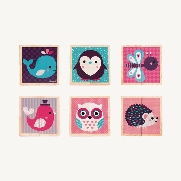 Baby Animals - My First Blocks, Blocks, Janod - All Mamas Children