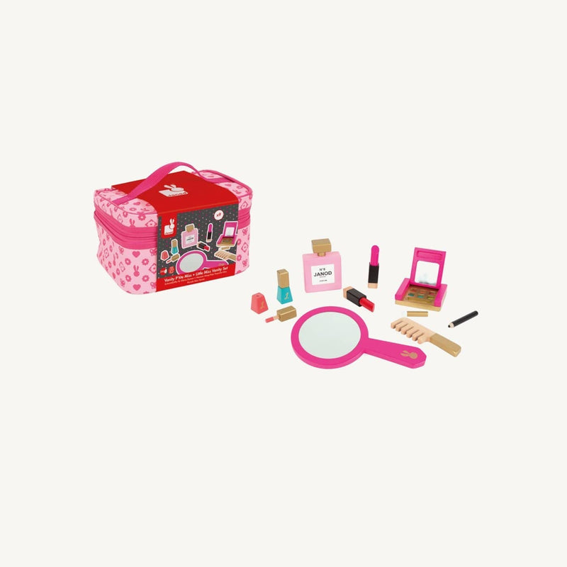 Janod - Little Miss Vanity Case, Pretend Play, Janod - All Mamas Children