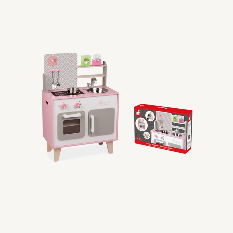 Macaron Wooden Cooker / Kitchen Set, Kitchen Toys, Janod - All Mamas Children
