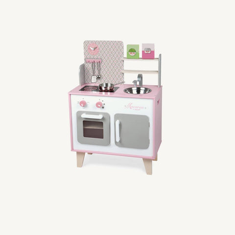 Macaron Wooden Cooker / Kitchen Set, Toys, Janod - All Mamas Children