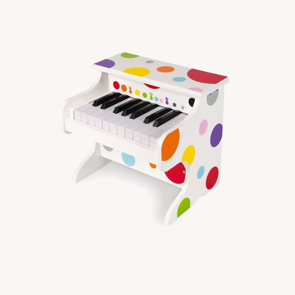 Janod - My First Confetti Electronic Piano, Toy Instruments, Janod - All Mamas Children