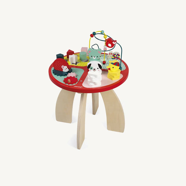 Janod - Activity Table Baby Forest, Activity Table, Janod - All Mamas Children