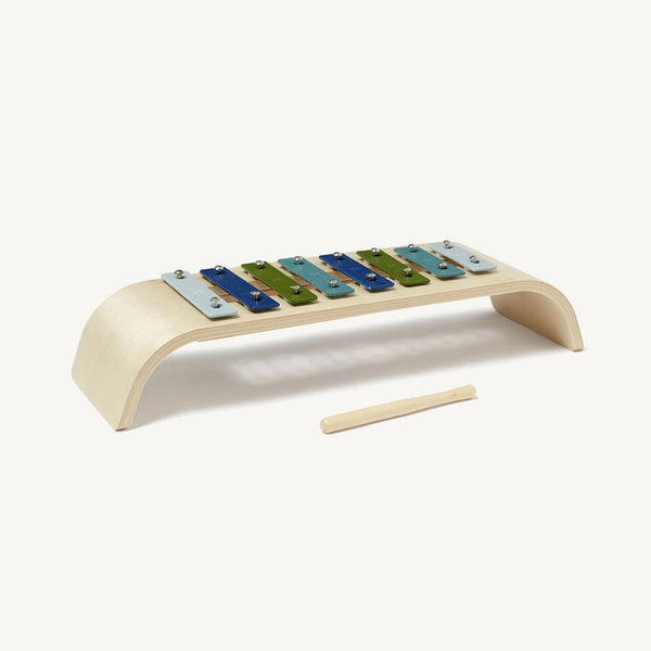 Kid's Concept - Plywood Toy Xylophone in Blue Mix - All Mamas Children
