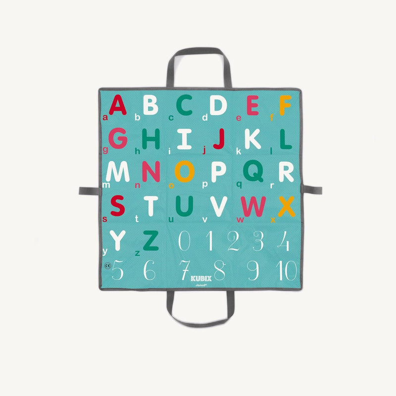 Janod - Kubix 40 Letter and Number Blocks, Blocks, Janod - All Mamas Children