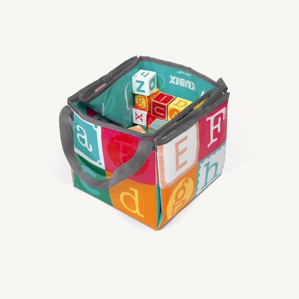 Janod - Kubix 40 Letter and Number Blocks - All Mamas Children