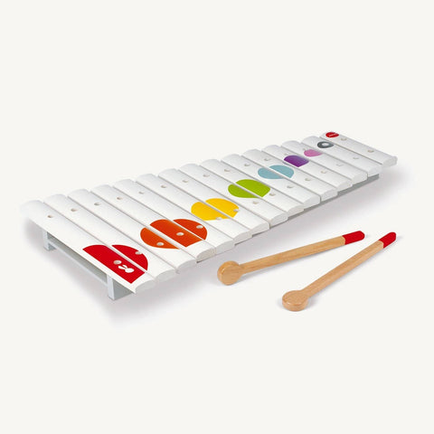 Confetti Large Wooden Xylophone, Toy Instruments, Janod - All Mamas Children