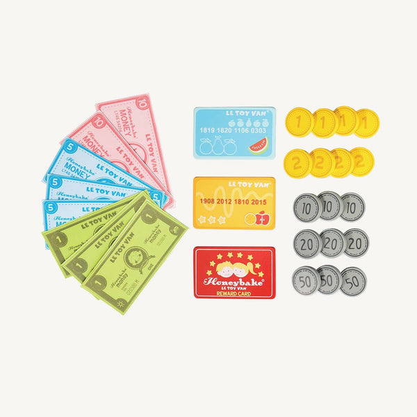 Le Toy Van - Honeybake Play Money Set, Pretend Play, Le Toy Van - All Mamas Children
