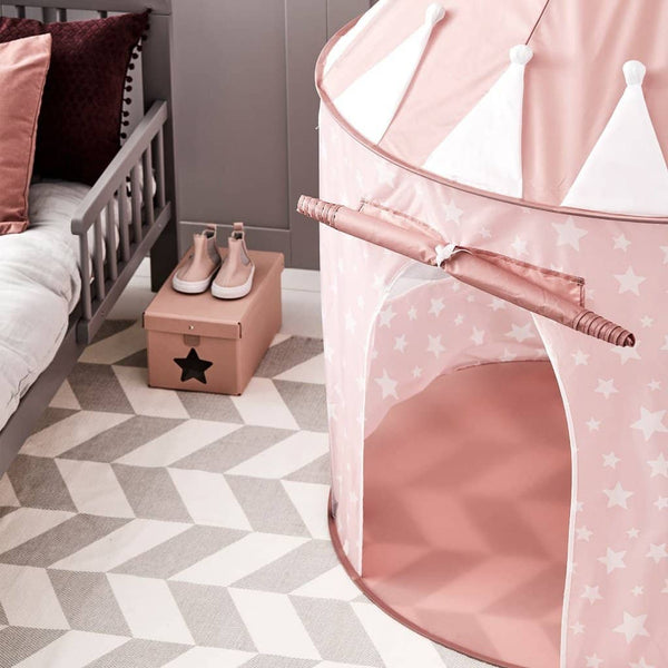 Star Pink Play Tent, Play Tent, Kids Concept - All Mamas Children