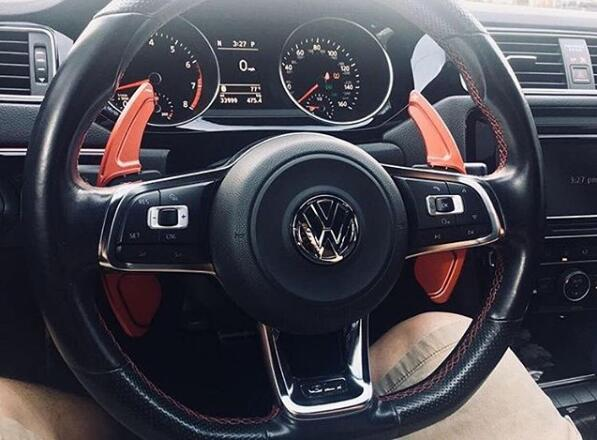 More Revision on Pinalloy Paddle Shifter Extensions for Volkswagen MK7