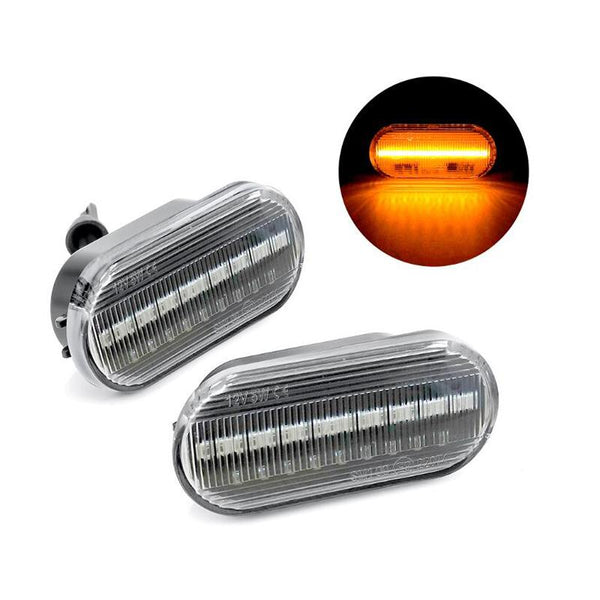Pinalloy OEM Side Sequential Blink Turn Signal Light for VW Golf 3 4 1995-Up - Pinalloy Online Auto Accessories Lightweight Car Kit
