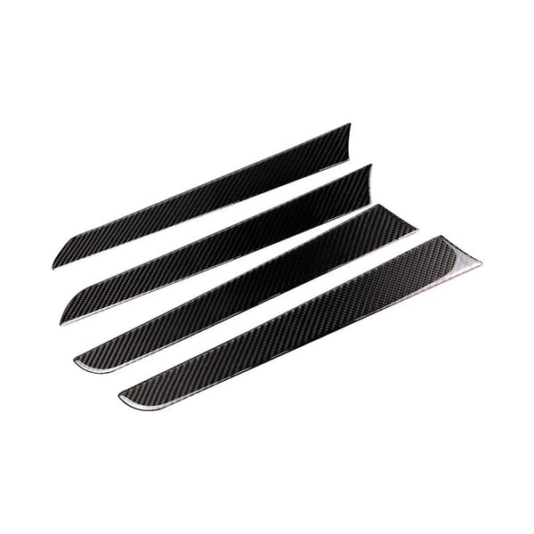 Pinalloy ABS Carbon Fiber Door Panel Handle Strip Cover for Audi A4B8 2009-2016 - Pinalloy Online Auto Accessories Lightweight Car Kit