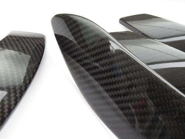 Pinalloy Real Carbon Fiber 4 DOOR INTERIOR TRIM Handle for BMW F30 2012-2017 - Pinalloy Online Auto Accessories Lightweight Car Kit