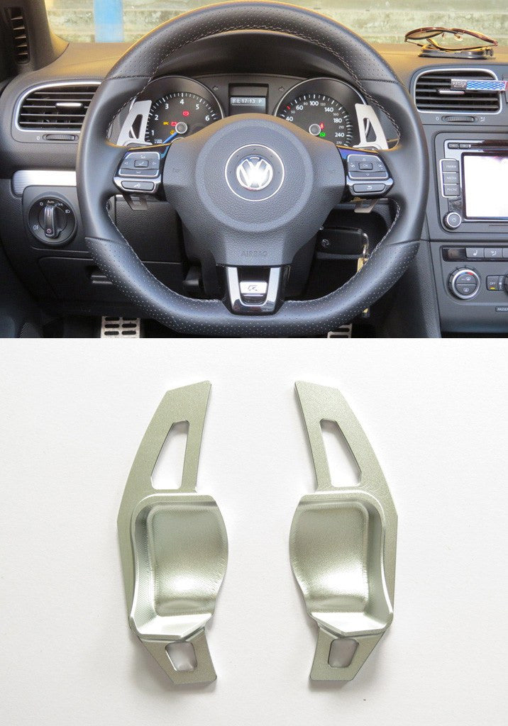 Pinalloy Silver DSG Paddle Gear Shift Extension for VW Golf MK5 6 SEAT - Pinalloy Online Auto Accessories Lightweight Car Kit