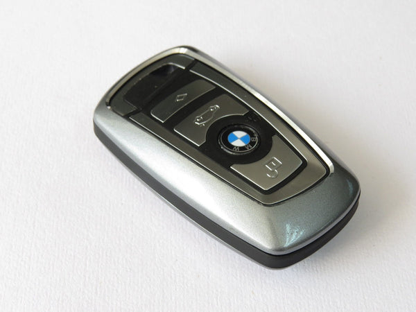 Pinalloy Alloy Metal Keyless Key Cover Case Shell BMW 1 3 4 5 7 Series