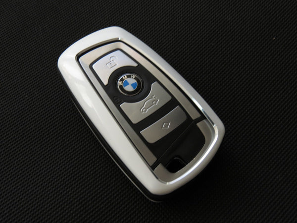 Pinalloy Alloy Metal Keyless Key Cover Case Shell BMW 1 3 4 5 7 Series - Pinalloy Online Auto Accessories Lightweight Car Kit