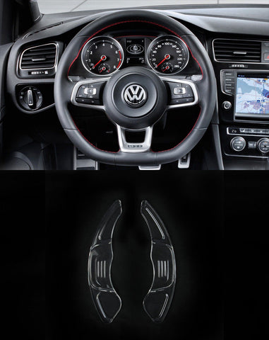 Transparent PC DSG Paddle Shift Extenders for MK7