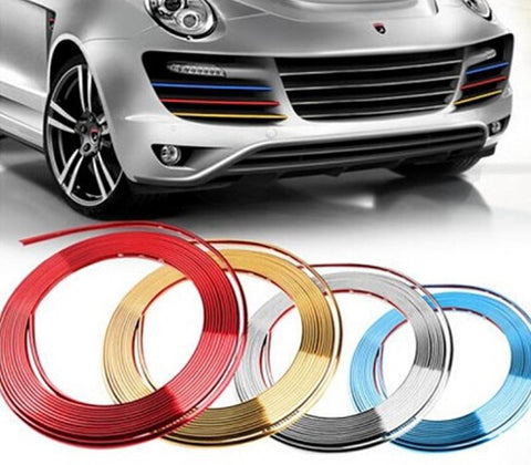 Pinalloy Chrome Made Trim Molding Trim Strip Car For Door Edge Scratch Guard Protector Cover - Pinalloy Online Auto Accessories Lightweight Car Kit