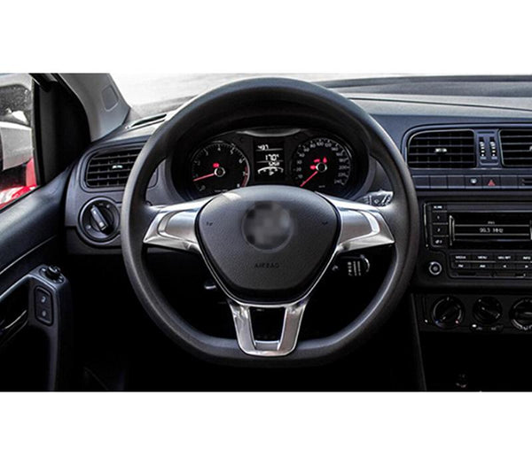Pinalloy ABS Steering Wheel Trim Cover for Volkswagen VW Golf MK7 Polo 2014 2015 - Pinalloy Online Auto Accessories Lightweight Car Kit