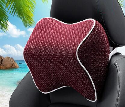 Pinalloy Interior Memory Cotton Headrest Neck Pillow with Cervical Protect - Pinalloy Online Auto Accessories Lightweight Car Kit