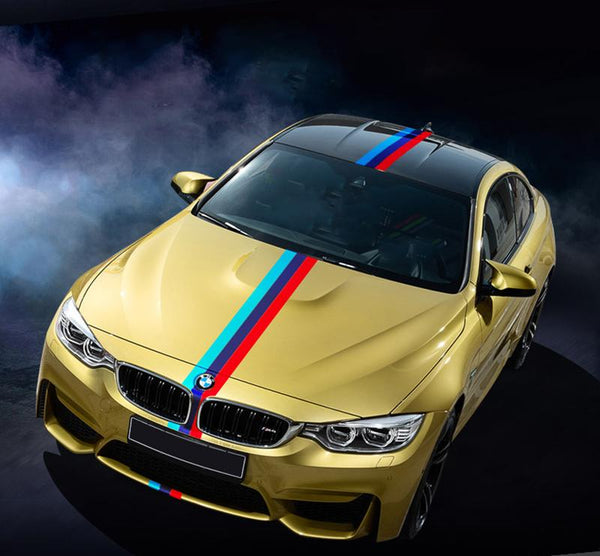 Pinalloy Universal Multi Color Exterior Decoration Stripe Decal Sticker - Pinalloy