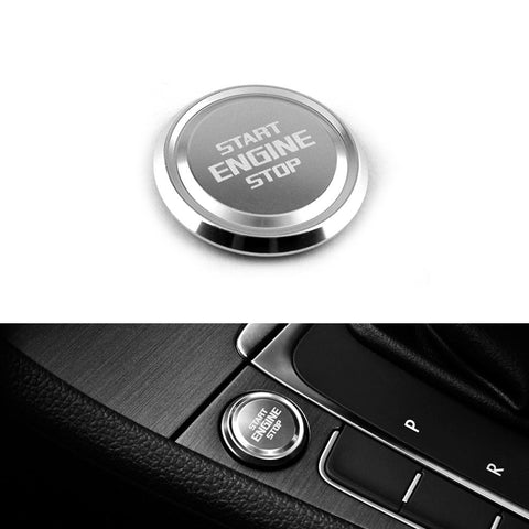 Pinalloy Engine Start Button Badge For MK7 6 GOLF7 6 GTI Jetta SCIROCCO POLO CC - Pinalloy