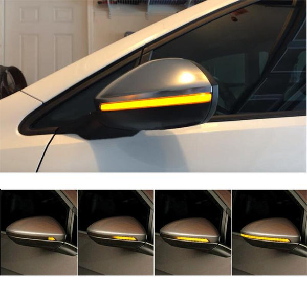 OEM Side Mirror Sequential Blink Turn Signal Light for Audi A3 2013-2018 8V - Pinalloy Online Auto Accessories Lightweight Car Kit