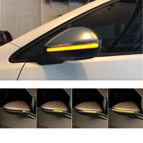 OEM Side Mirror Sequential Blink Turn Signal Light for Audi A3 2013-2018 8V - Pinalloy