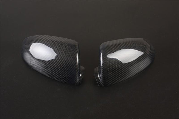 Pinalloy Real Carbon Fiber Tape-on Mirror Covers for 2008-2014 Benz Smart Fortwo 451 - Pinalloy