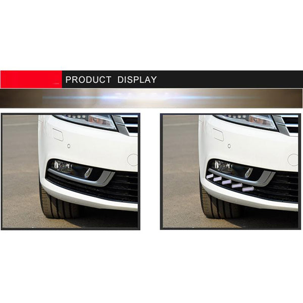 Pinalloy Fog Light Trim with Sequential Blink Turn Signal Light for VW Volkswagen Passat CC 2013-2018 - Pinalloy Online Auto Accessories Lightweight Car Kit