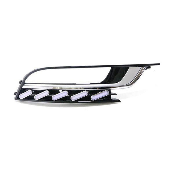 Pinalloy Fog Light Trim with Sequential Blink Turn Signal Light for VW Volkswagen Passat CC 2013-2018 - Pinalloy